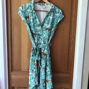 Maeve Shirtdress, Size 6